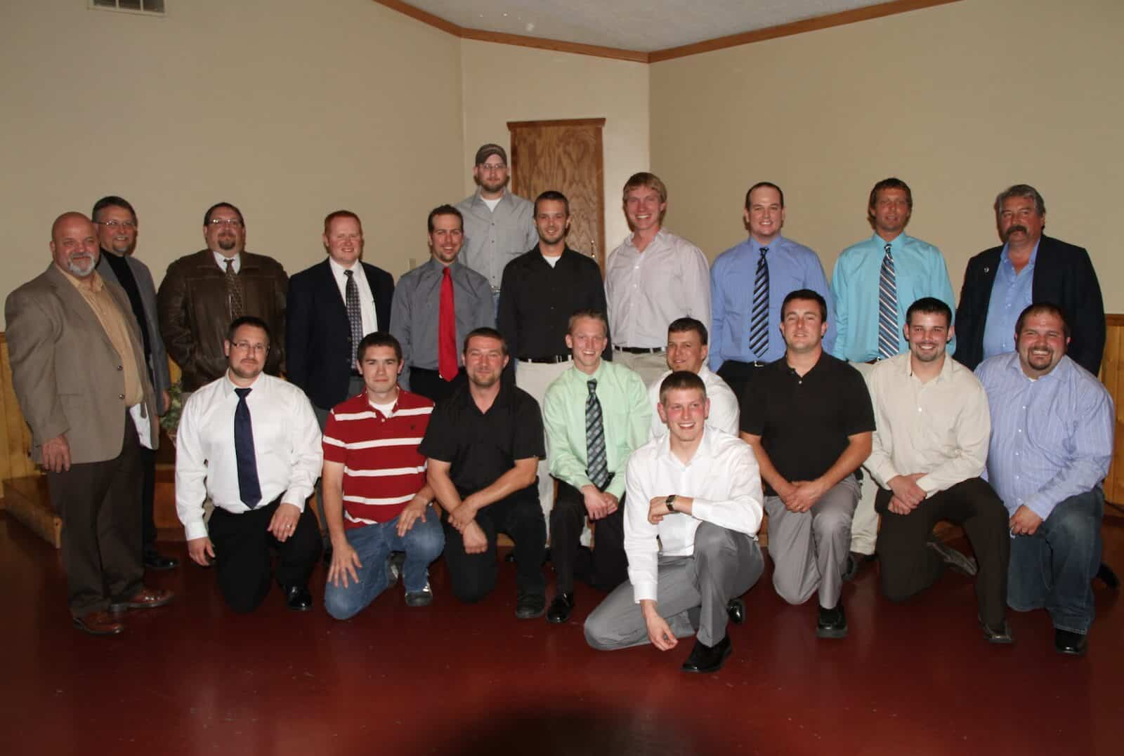 2011 5th year electrical apprentice graduates
