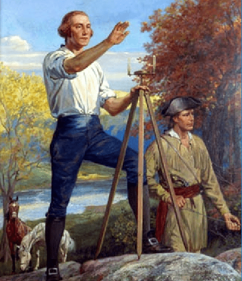 George Washington - Surveyor